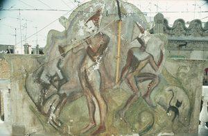 Pintura Mural Terrat C/ Poeta Cabanyes